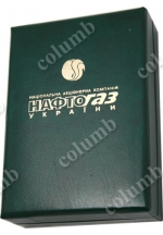 Medal case with the company's logo on the case cover made by stamping technology