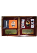 Set of symbolics of the football club 'Shakhtar'