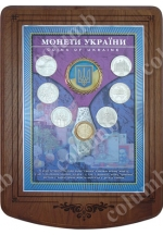 'Coins of Ukraine' plaque