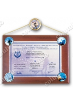 'Certified swimmer-diver' diploma
