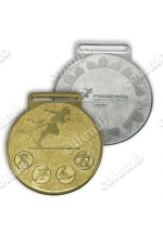 "Medals ""Rosneft. Winter Spartakiad 2016"""