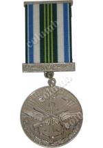 "Medal with jaws ""For Impeccable Service - 10"" Azerbaijan"
