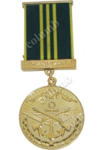 "Medal with jaws ""For Impeccable Service - 15"" Azerbaijan"