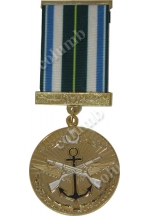 "Medal with jaws ""For Impeccable Service - 20"" Azerbaijan"