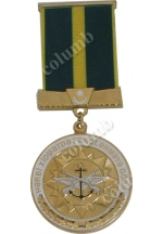 "Medal with jaws ""For the difference in military service -1 degrees"" Azerbaijan"