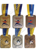 "Medals on the tape ""Children's Judo Festival 2014"""