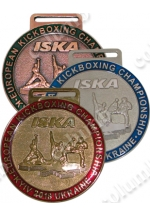 "Medal on the tape ""EUROPEAN KICKBOXING CHAMPIONSHIP"" Kiev 2018"