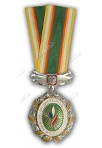 For good achievements in an environmental protection field' medal