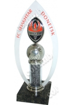 'FC Shakhtar' souvenir with a new emblem