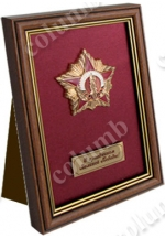Framed badge '65 Victory Anniversary'