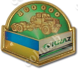 'KRAZ' badge